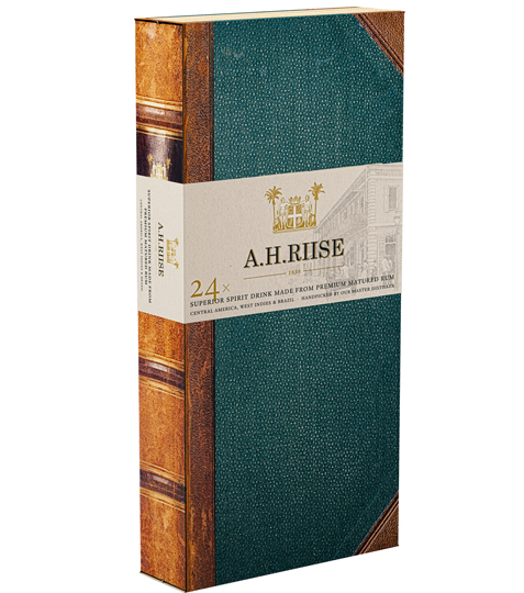 Rum A.H. Riise 24 Experiences 24x0,02L 41,92%