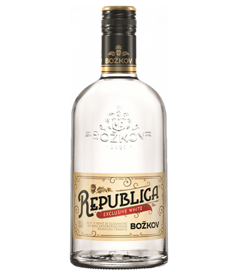 Rum BOZKOV REPUBLICA WHITE 38% 0,7L