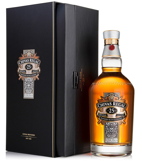 CHIVAS REGAL 25y 40% 0,7 L BOX