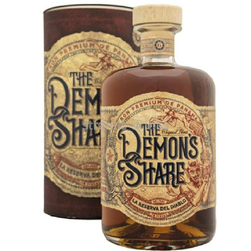 Rum The Demon´s Share 40% 0,7 L BOX