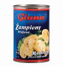 Sampinony 314 ml Giana