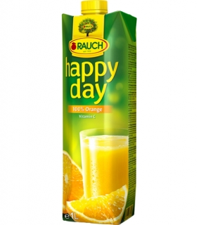 HAPPY DAY pomaranč 100% 1 L