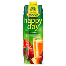 HAPPY DAY jablko 100% 1 L