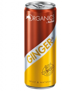 ORGANICS Ginger Ale by Red Bull 0,25L plech.